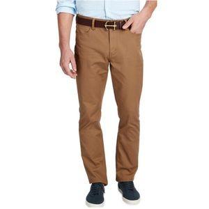 Vineyard Vines 5 Pocket Pant Brown Cotton Straight